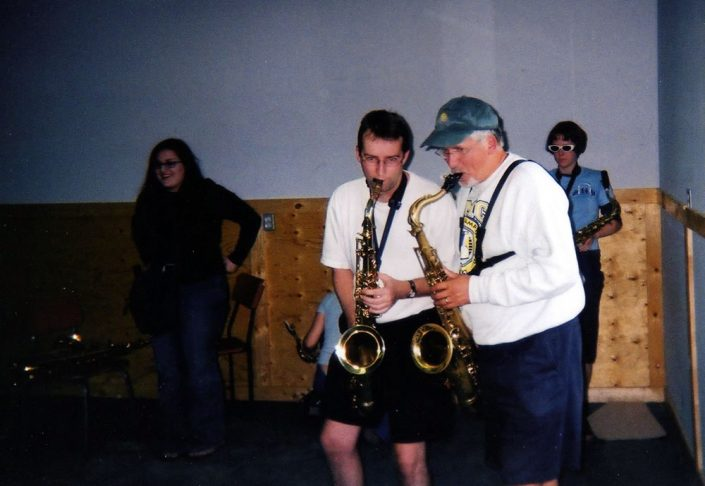 Paul and Dave Neill at National Music Camp